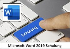 Microsoft Word 2019 Schulung
