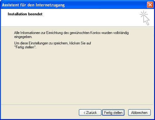 Einrichtung Outlook Express 6 Step 5
