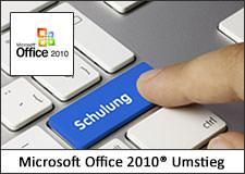 Umstieg auf Microsoft Office 2010 Schulung