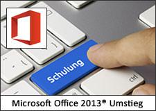 Umstieg auf Microsoft Office 2013 Schulung