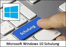 Microsoft Windows 10 Schulung