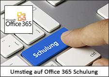 Umstieg auf Microsoft Office 365 Schulung
